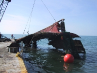 Shrimp Boat Wreck Removal