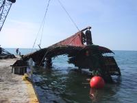 Shrimp Boat Wreck Removal