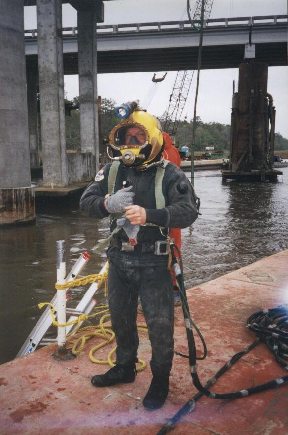 Thomas Contracting diver
